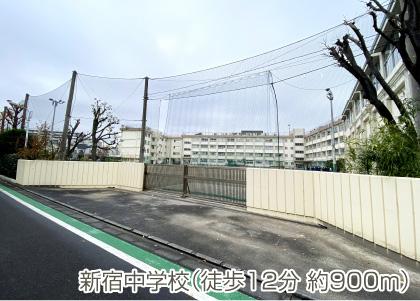 新宿中学校(徒歩12分 約900m)