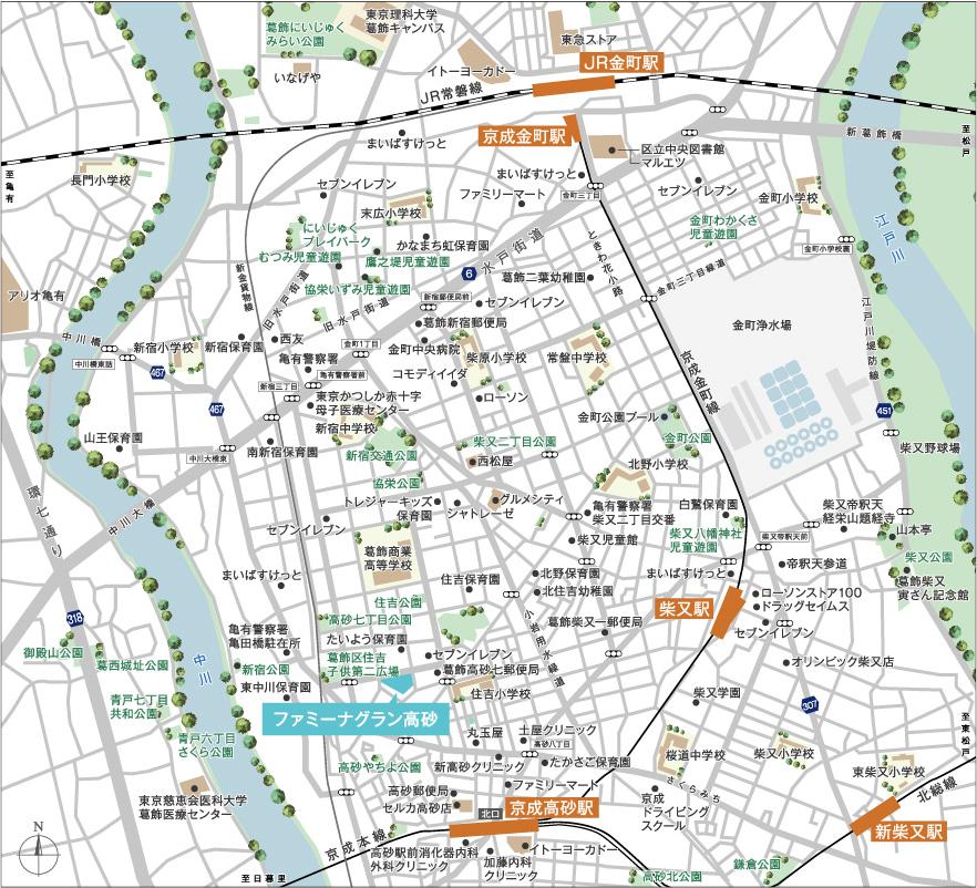 広域マップイメージ