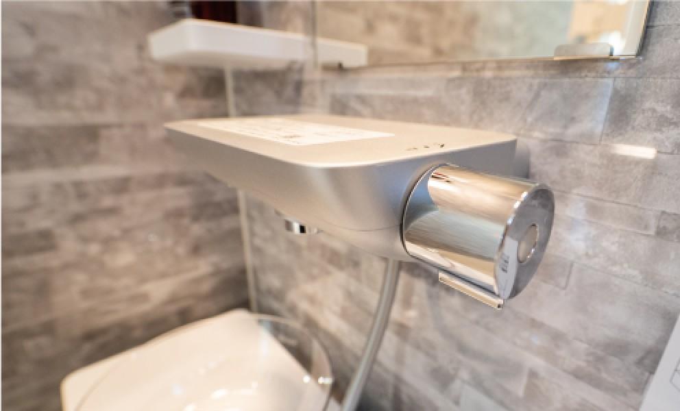 スッキリ棚水栓